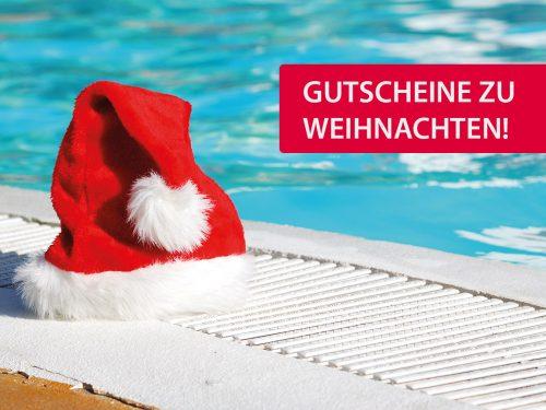 Nikolausmützen im Schwimmbad