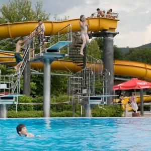 Rutsche Schwimmbad Bürgstadt